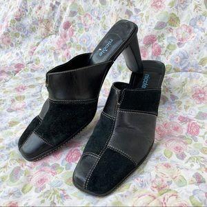 Vintage 90s Nicole heeled mules